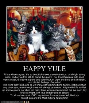 HAPPY YULE