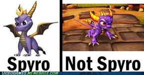 Stupid Skylanders Ruining Spyro