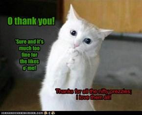 O thank you!