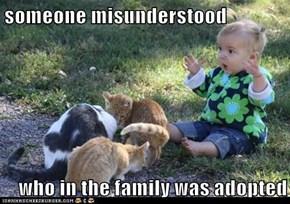 someone misunderstood...