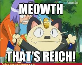 Hitler Meowth