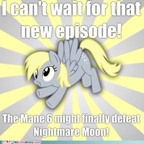 A Little Too Far Back, Derpy!