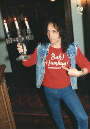 Holy Night?... More Like, HOLY DIVER!