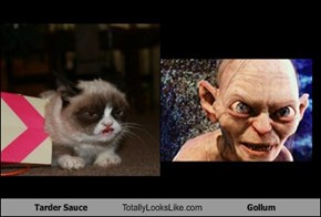 Tarder Sauce Totally Looks Like Gollum