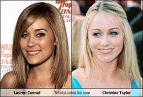 Lauren Conrad Totally Looks Like Christine Taylor