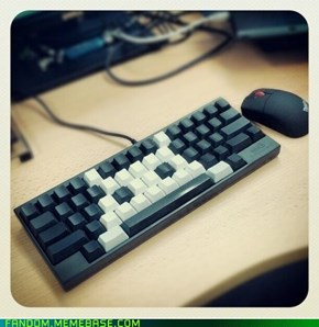 Invaded your spacebar
