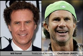 Will Ferrell Totally Looks Like Chad Smith (RHCP)