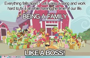 Being a family like a boss!