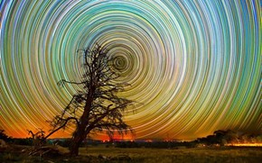 Star Trails in Australia