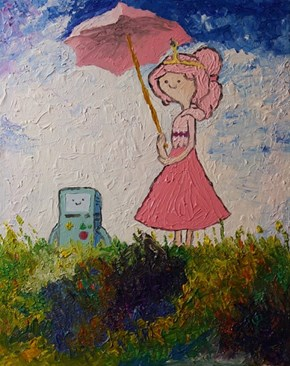 Princess with Parasol