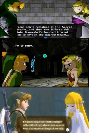 Freaking Zelda