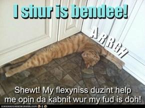 I needs muhsulz fur dat!