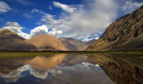 Reflections in the Nubra Valley, Ladakh