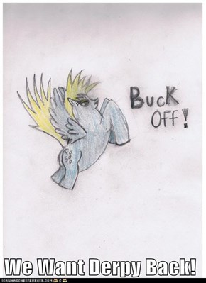 We Want Derpy Back!