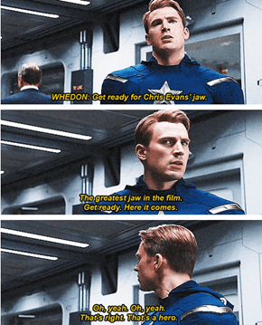 Joss Whedon: President of the Chris Evans Fan Club