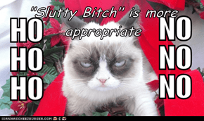 """""""Slutty Bitch"""" is more appropriate"""