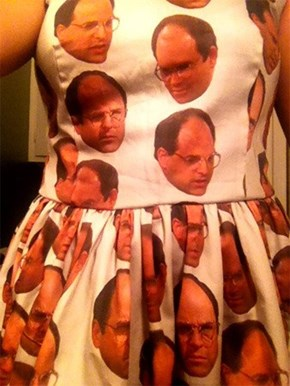Fan Art of the Day: The Costanza Dress