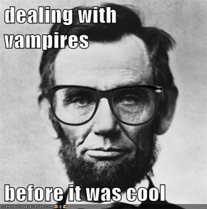 dealing with vampires  before it was cool