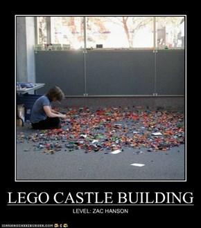 LEGO CASTLE BUILDING