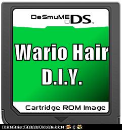 Wario Hair D.I.Y.