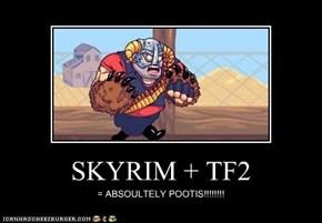 SKYRIM + TF2