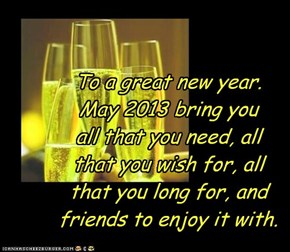 my wish for all my cheezfriends