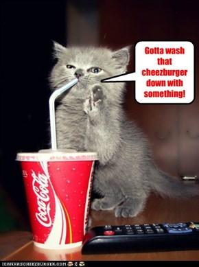 Hope this is diet coke!