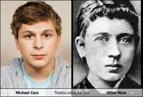 Michael Cera Totally Looks Like Hitler Mom