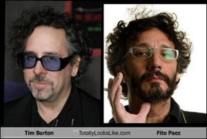 Tim Burton Totally Looks Like Fito Paez
