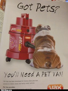 PetVac Position FAIL