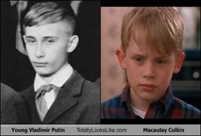 Young Vladimir Putin Totally Looks Like Macaulay Culkin