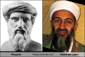 Pitagoras Totally Looks Like Osama Bin Laden
