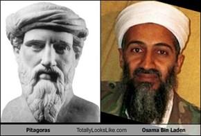 Pitagoras Totally Looks Like Osama Bin Laden