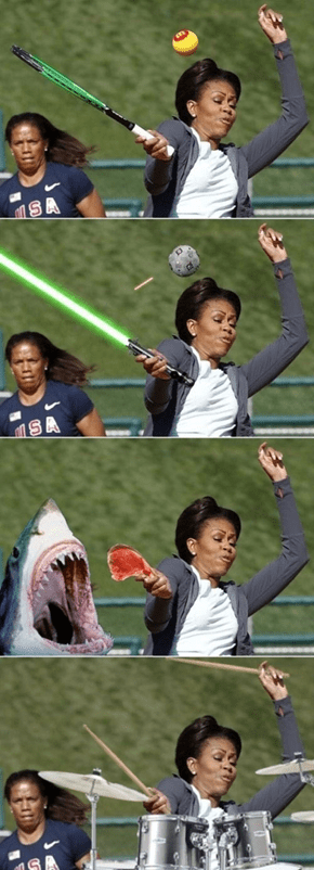 First Lady Photoshop Adventures