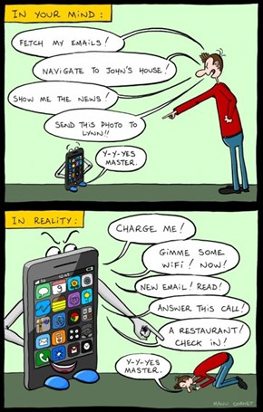 Praise Be to Smartphone!