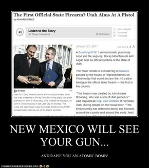 NEW MEXICO WILL SEE YOUR GUN...