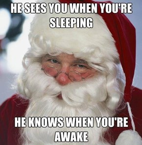 Overly Attached Santa