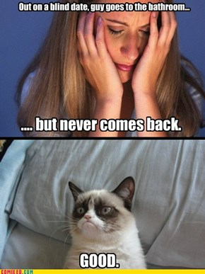 Grumpy Cat on Dating...