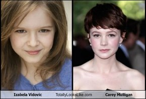 Izabela Vidovic  Totally Looks Like Carey Mulligan