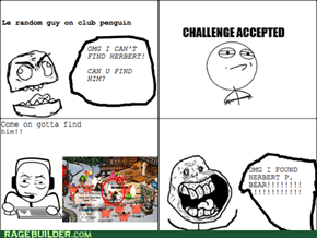 Club penguin rage!