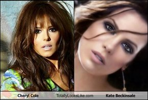 Cheryl Cole Totally Looks Like Kate Beckinsale
