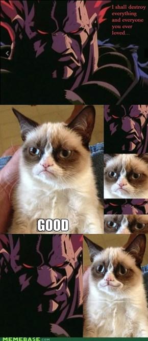 Akuma vs. Grumpy Cat