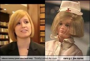 rebecca romney (pawn stars book lady) Totally Looks Like rare g.i. joe