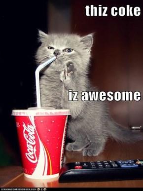 thiz coke iz awesome