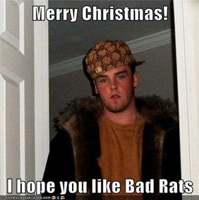 Merry Christmas!  I hope you like Bad Rats