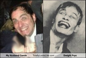 My Husband Corvin Totally Looks Like Dwight Frye