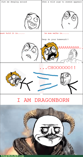 I AM DRAGONBORN