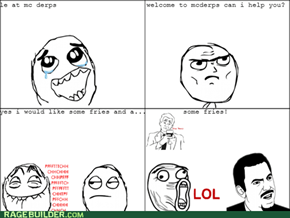 fast  food prank!