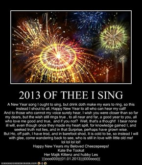 2013 OF THEE I SING