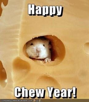 Happy  Chew Year!